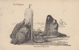 En Belgique - Un Poste D'écoute - 1917 ( Dessin ) - Autres