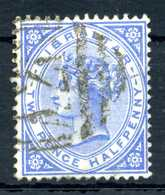 1886 GIBILTERRA N.11 USATO - Gibilterra