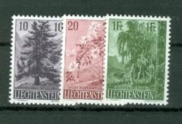 Liechtenstein   Yvert  319/321    * *  TB - Liechtenstein