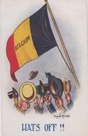 Hats Off !! - Drapeau Belge - Autres