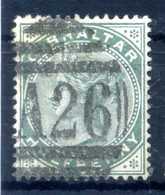 1886 GIBILTERRA N.8 USATO - Gibilterra