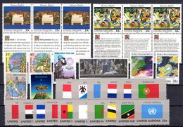 UNO New York: 1989 - Complete Year MNH / Postfris - New York - Hoofdkwartier Van De VN