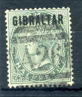 1886 GIBILTERRA N.1 USATO - Gibilterra