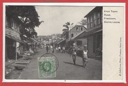AFRIQUE --  SSIERRA LEONE -- Kroo Town  Road Freetown - Sierra Leone