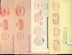 Deutsches Reich, 4 Briefe Mit Freistempel - Allemagne