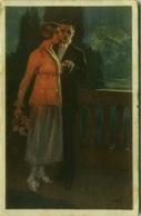 METLICOVITZ SIGNED POSTCARD 1910s - COUPLE - N.275-2  (BG81) - Illustrators & Photographers