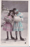Carte 1907 Gentilles Patineuses , Patin à Glace , Patinage - Patinage Artistique