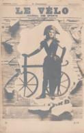 *** SPORT  ***  Le Velo Journal Des Sports Précurseur Neuf  Excellent état - Cyclisme