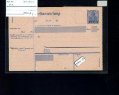 DR, Danzig A1 - Besetzungen 1914-18