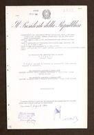 Decreto Autografo Presidente Repubblica Gronchi E Ministro Difesa Andreotti 1960 - Autographs