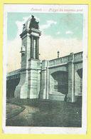 * Oostende - Ostende (Kust - Littoral) * Pillier Du Nouveau Pont, Bridge, Stempel Cachet Werk Der Gezonde Lucht - Oostende