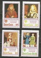 St Lucia - 1979 Year Of The Child Set Of 4 MNH **       Sc 473-6 - St.Lucia (1979-...)