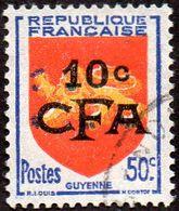 Réunion Obl. N° 282 - Armoiries GUYENNE - Réunion (1852-1975)