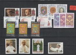 Vatikan   Poste Vaticano  Postfrisch**     Jahrgang 1978  MiNr. 718-735 - Vatikan