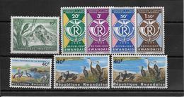 Thème Oiseaux - Rwanda - Neufs ** Sans Charnière - TB - Non Classificati