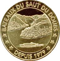 25 VILLERS LE LAC SAUT DU DOUBS N°8 DEPUIS 1979 MÉDAILLE MONNAIE DE PARIS 2019 JETON TOKEN MEDALS COINS - Monnaie De Paris