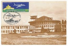 MAX 19 - 1005-a AIRPORT BANEASA, Romania - Maximum Card - 1994 - Cartes-maximum (CM)