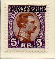 PIA - DANIMARCA -1941-42 :  Francobollo Precedente Sovrastampato POSTFAERGE - (Yv 264A) - 1913-47 (Christian X)
