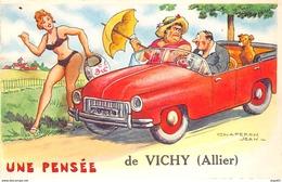 Une Pensée De VICHY - Chaperon Jean - Très Bon état - Vichy