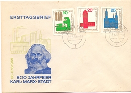 DDR KARL MARX 1965 FDC   (GEN190139) - Karl Marx