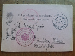GERMANIA REICH - Cartolina Postale Militare In Franchigia Spedita In Boemia-Moravia Nel 1905 + Spese Postali - Germania