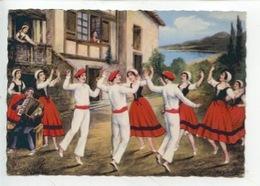 Types Basques : Le Fandango (n°75) Dessin Gravure Folklore - Frankrijk