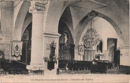 CARRIERES SUR SEINE - Intérieur Eglise - Carrières-sur-Seine