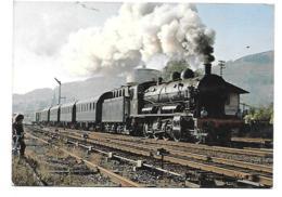 LOCOMOTIVE 140 C27 DE LA CITEV TRAIN WVO NANCY ST DIE STRASBOURG - Trains