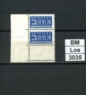 Notopfer Berlin, 6 Z 14 : 14,  Xx, Falz Ganz Oben Im Oberrand, Marken Einwandfrei - Bizone