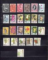 Malaysia - Pahang   1953-86  .  Y&T  Nº  61-62/63-65-67-73-75-78-80-84/86-86B-90-93/95-99/105 - Pahang