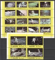 E070 MANAMA SPACE APOLLO ALDRIN !!! BIG SET MNH - Space