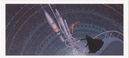 Postcard - Star Wars Art - Ralph McQuarrie - Sword Fight On Antenna - August 21-22 1978 - New - Ohne Zuordnung