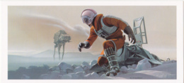 Postcard - Star Wars Art - Ralph McQuarrie - Luke And Imperial Walker - Circa Spring 1979 - New - Ohne Zuordnung
