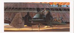 Postcard - Star Wars Art - Ralph McQuarrie - Battle Aboard The Skiff - New - Postales
