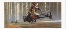 Postcard - Star Wars Art - Ralph McQuarrie - Luke On Speeder Bike - New - Ohne Zuordnung