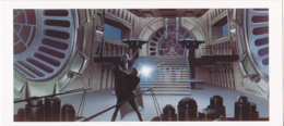 Postcard - Star Wars Art - Ralph McQuarrie - Luke And Vadar Fight In Emperor's Throne Room - New - Ohne Zuordnung