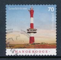 BRD Mi. 3396 Gest. Leuchtturm Wangerooge - [7] République Fédérale