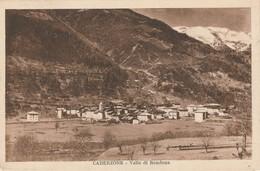 VAL RENDENA CADERZONE AMPIA VEDUTA EL CENTRO VIAGGIATA A. IX 1930? FORMATO PICC. - Trento
