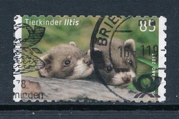 BRD Mi. 3294 Gest. Tierkinder Iltis - [7] République Fédérale