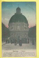 * Scherpenheuvel Zichem - Montaigu (Vlaams Brabant) * L'église, Kerk, Church, Couleur, Animée, Basilique, Rare, Old - Scherpenheuvel-Zichem