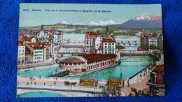 Genéve Pont De La Coulouvreniére Et Quartier De St. Gervais Switzerland - Autres