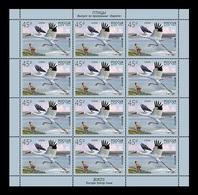 Russia 2019 Mih. 2653 Europa. Fauna. Birds. Siberian Crane (M/S) MNH ** - 1992-.... Federatie