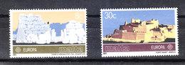 Malta - 1983 .Europa. Tempio Megalitico E Fortezza. Megalithic Temple And Fortress. MNH - Archeologie