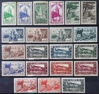 MAROC - N°164 à 172 - 174 - 176 à 188 - 190 - 192 à 195 - Neuf SANS Charnière ** / MNH - Maroc (1891-1956)
