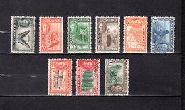Malaysia - Sarawak   1950-52  .  Y&T  Nº  172/175-178-181/183-185 - Sarawak (...-1963)
