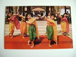 THAILAND Dancing Called Ram-Seeda, Performed By Thai Girls  THAILANDIA TAILANDIA    * - Tailandia