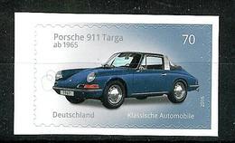Bund 2016: Mi.-Nr. 3213: Porsche  Selbstklebend   ** - BRD