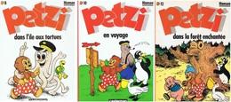 HANSEN : PETZI (3 Revues) Numéros 8, 10 Et 12 - Petzi