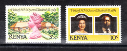 Kenya - 1983. Elizabeth  And  Premier D.A. Moi. MNH - Royalties, Royals