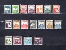 Palestina   1927-45   .   Y&T   Nº   63/75-77/78 - Palestina